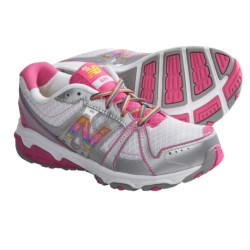 New Balance KJ689 Running Shoes (For Kids and Youth) in Pink/Silver