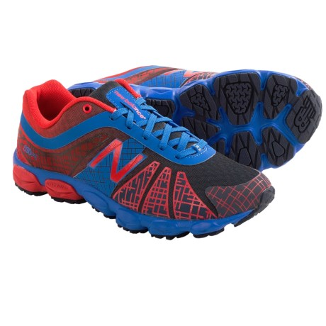 New Balance KJ890 Running Shoes (For Big Boys and Girls) in Blue/Red