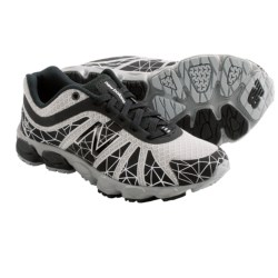 New Balance KJ890 Running Shoes (For Kids) in Black/Silver