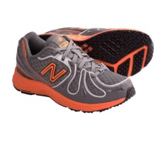 New Balance KJ890 Running Shoes (For Kids) in Grey/Orange - Closeouts