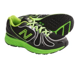 New Balance KJ890 Running Shoes (For Youth Boys and Girls) in Black/Neon Green