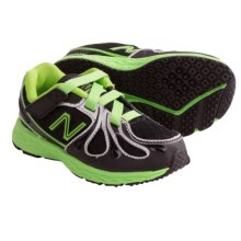 New Balance KV890 Running Shoes (For Infants and Toddlers) in Black/Neon Green - Closeouts