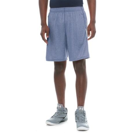 "New Balance Lax Braid Shorts - 10"" (For Men) in Atlantic Heather"
