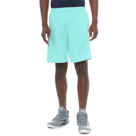 "New Balance Lax Braid Shorts - 10"" (For Men) in Ozone Blue Glow"