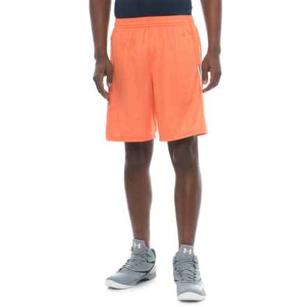 "New Balance Lax Braid Shorts - 10"" (For Men) in Tomato - Closeouts"