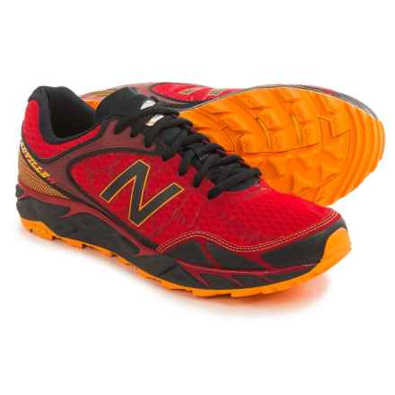 New Balance Leadville V3 Trail Running Shoes (For Men) in Red/Black - Closeouts