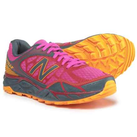 New Balance Leadville V3 Trail Running Shoes (For Women) in Azalea/Grey - Closeouts