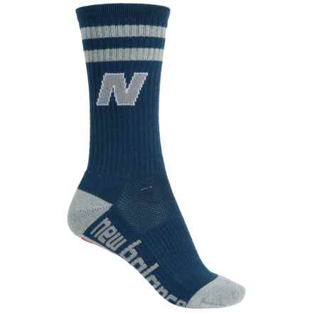 New Balance Lifestyle Varsity Socks - Crew (For Women) in Navy - Closeouts