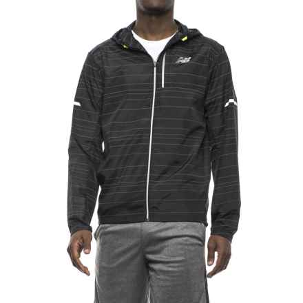 New Balance Lite Packable Jacket (For Men) in Black - Closeouts