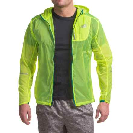 New Balance Lite Packable Jacket (For Men) in Toxic Yellow - Closeouts