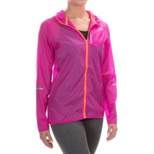 New Balance Lite Packable Jacket (For Women) in Azalea Multi - Closeouts