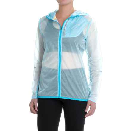 New Balance Lite Packable Jacket (For Women) in Fresh Water Multi - Closeouts