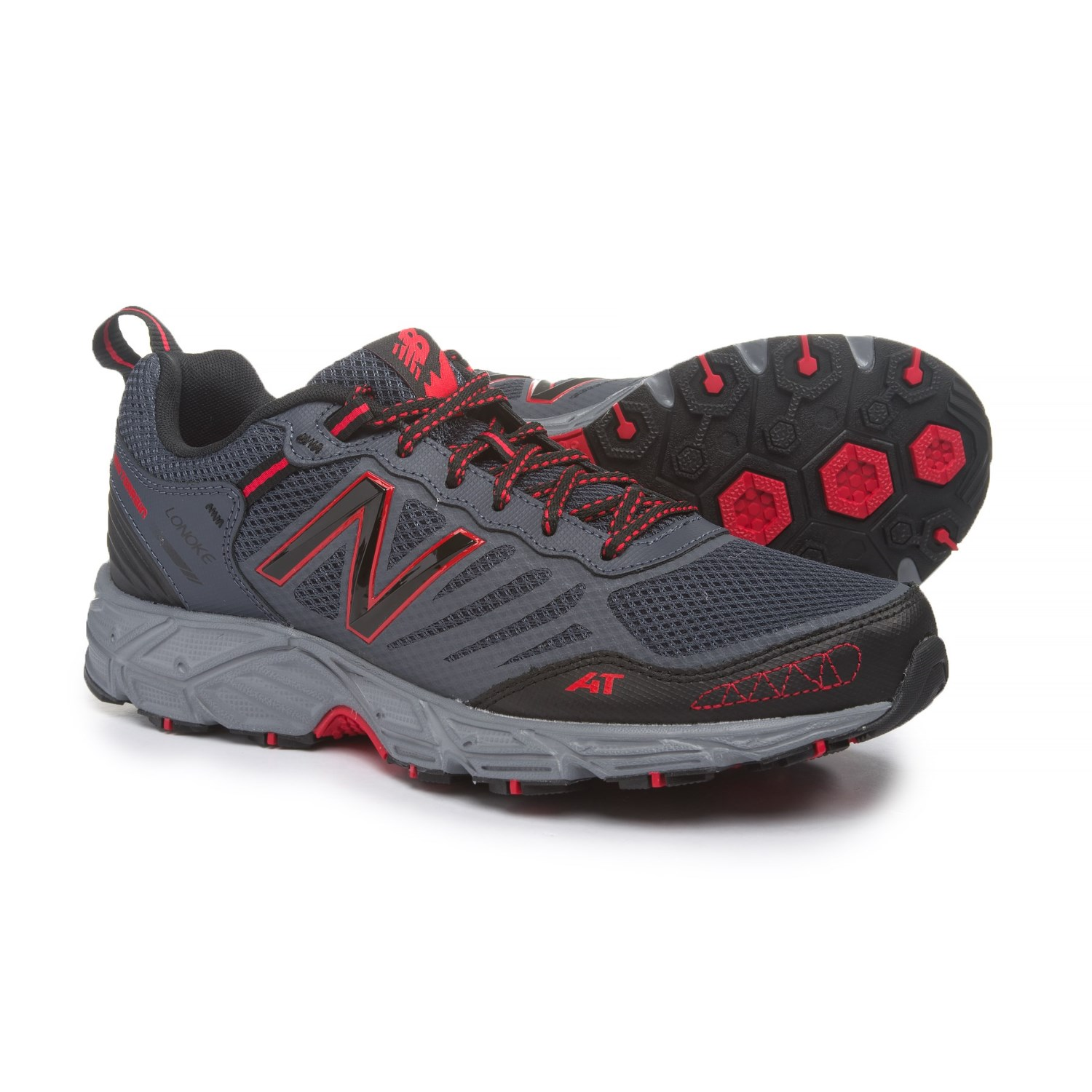 New Balance Womens  Clear Vinyl Walking Hiking Trail Athletic Shoes Size 11