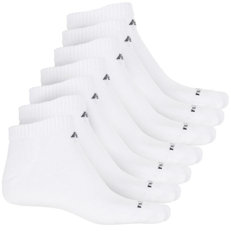 New Balance Low-Cut Core Cotton Socks - 6-Pack, Ankle (For Men) in White