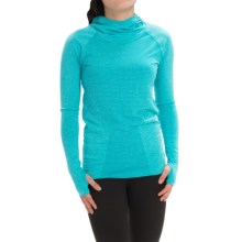 New Balance M4M Seamless Hoodie (For Women) in Sea Glass - Closeouts