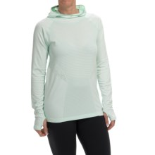 New Balance M4M Seamless Hoodie (For Women) in Water Vapor - Closeouts