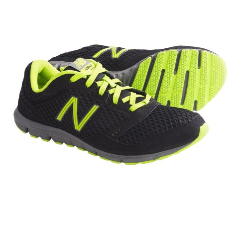 New Balance M630 Running Shoes (For Men) in Black/Neon Green