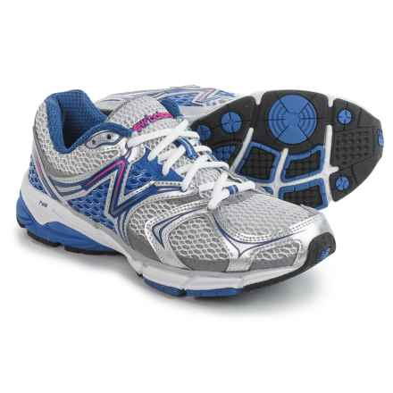 New Balance M940v2 Running Shoes (For Women) in White/Silver/Kinetic Blue - Closeouts