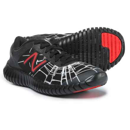 New Balance Marvel 99 Running Shoes (For Boys) in Black - Closeouts