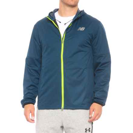 New Balance Max Intensity Jacket (For Men) in North Sea - Closeouts