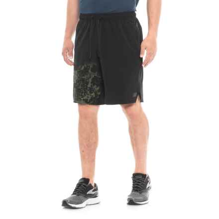New Balance Max Intensity Running Shorts (For Men) in Black Multi - Closeouts