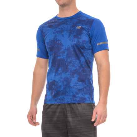 New Balance Max Intensity T-Shirt - Short Sleeve (For Men) in Blue - Closeouts