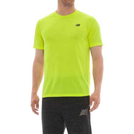 New Balance Max Intensity T-Shirt -Short Sleeve (For Men) in Hilite - Closeouts