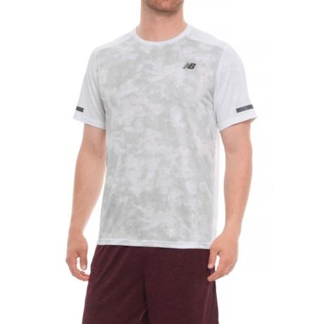 New Balance Max Intensity T-Shirt - Short Sleeve (For Men) in White