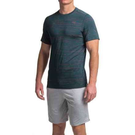 New Balance Max Speed Shirt - Short Sleeve (For Men) in Galaxy - Closeouts