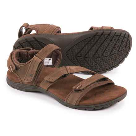 New Balance Maya Sport Sandals - Nubuck (For Women) in Br Brown - Closeouts