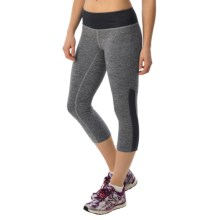 New Balance Melange Crush Capris (For Women) in Black Concrete - Closeouts