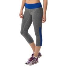 New Balance Melange Crush Capris (For Women) in Pacific - Closeouts