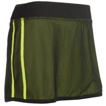 New Balance Mesh Skirt - Built-In Brief (For Women) in Tendershoots - Closeouts