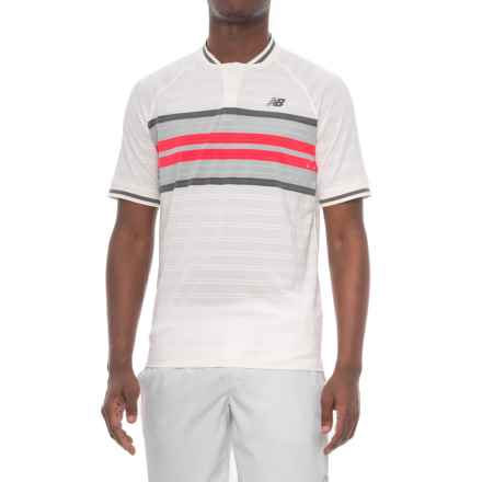New Balance Milos Tournament Shirt - Short Sleeve (For Men) in Sea Salt - Closeouts