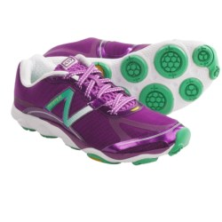 New Balance Minimus 1010 Running Shoes - Minimalist (For Women) in Purple Cactus Flower/Teal/White