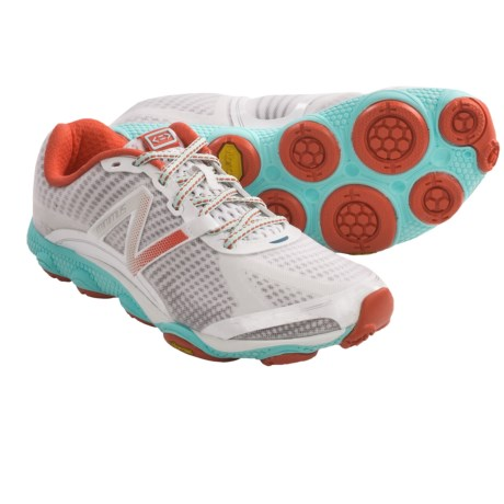 New Balance Minimus 1010 Running Shoes - Minimalist (For Women) in White/Turquoise