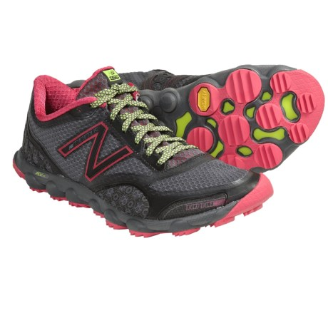 New Balance Minimus 1010 Trail Running Shoes - Minimalist (For Women) in Grey/Pink