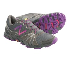 New Balance Minimus 1010v2 Trail Running Shoes - Minimalist (For Women) in Gray/Purple - Closeouts