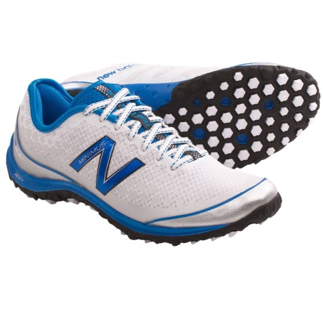 New Balance Minimus 1690 Running Shoes - Minimalist (For Men) in White/Blue Trim