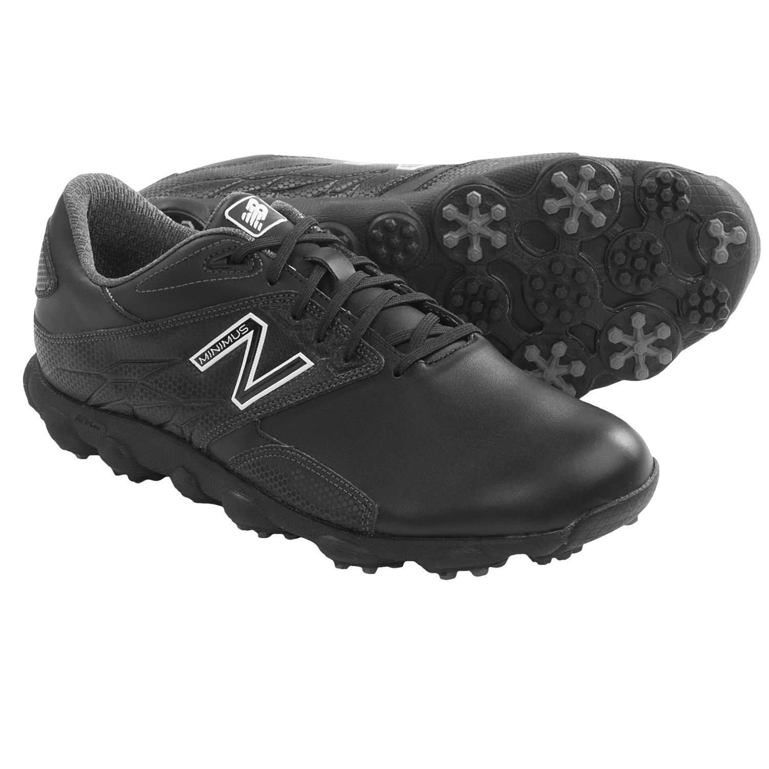 New Balance Minimus LX Golf Shoes (For Men) in Black/White