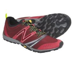 New Balance Minimus MT20 Trail Running Shoes - Minimalist (For Men) in Red/Black