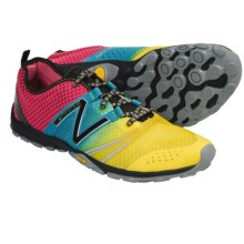 New Balance Minimus MT20 Trail Running Shoes - Minimalist (For Men) in Red/Blue/Yellow - Closeouts