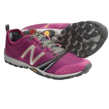 New Balance Minimus WT20 Trail Running Shoes - Minimalist (For Women) in Pink/Grey - Closeouts