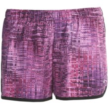 New Balance Momentum Print Shorts (For Women) in Imperial Purple - Closeouts
