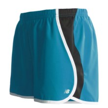 New Balance Momentum Run Shorts (For Women) in Blue Jewel - Closeouts