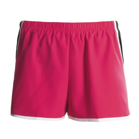 New Balance Momentum Run Shorts (For Women) in Bright Red