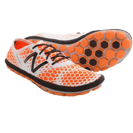 New Balance MR10 Minimus Shoes - Minimalist (For Men) in Orange/Frost