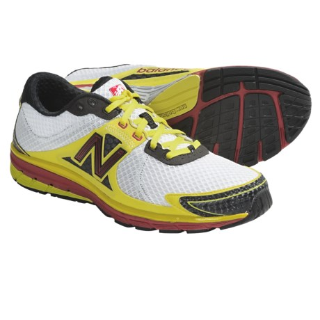 New Balance MR1190 Running Shoes (For Men) in White/Yellow/Red