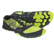 New Balance MT00 Minimus Trail Running Shoes (For Men) in Black/Tendershoots - Closeouts