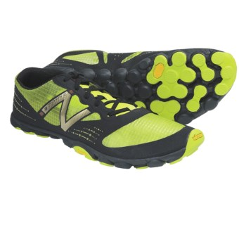 New Balance MT00 Minimus Trail Running Shoes (For Men) in Black/Tendershoots